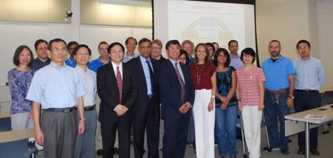 Climate Human and Earth System Science (CHESS) interdisciplinary cluster program