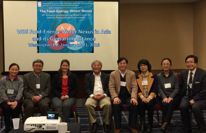 Panelists of Workshop on The Food-Energy-Water Nexus in Asia and its Importance